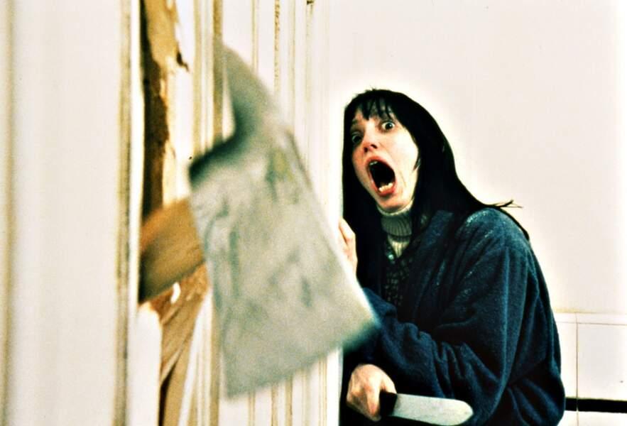 Film de Stanley Kubrick ou Jack Nicholson devient fou et s'en prend à sa famille