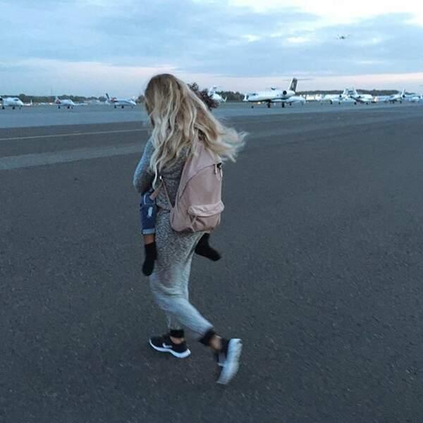 Beyoncé prend l'avion !