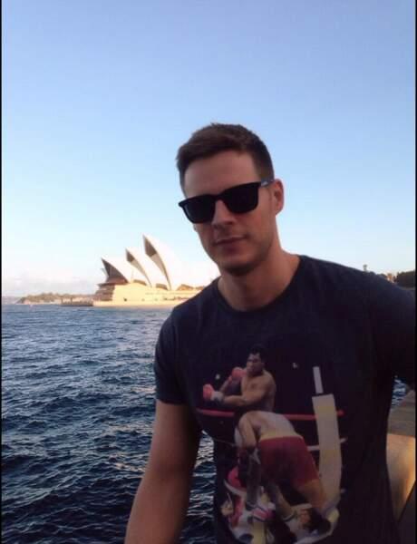 Mais où est donc Matthieu Delormeau ? En Australie où il tournenles Anges bien sûr !