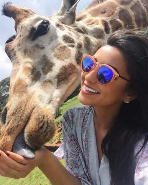 Shay adore les animaux, qu'ils soient grands,