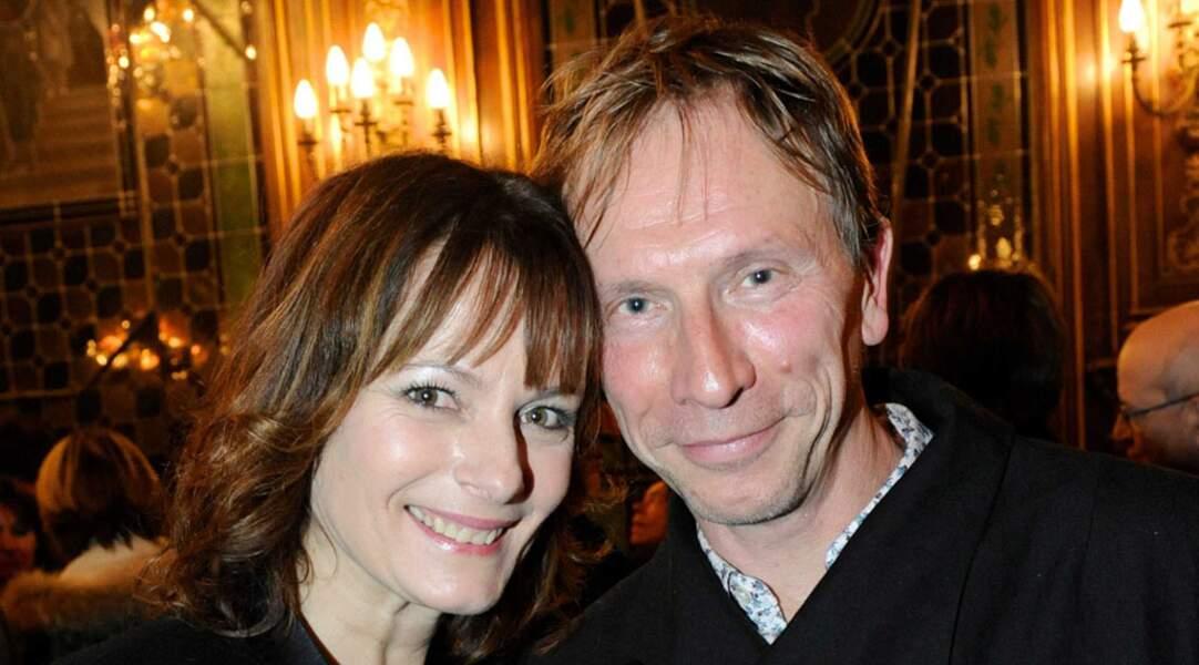 Cécilia Hornus et Thierry Ragueneau se sont connus sur le tournage de Plus belle la vie il y a près de 15 ans.