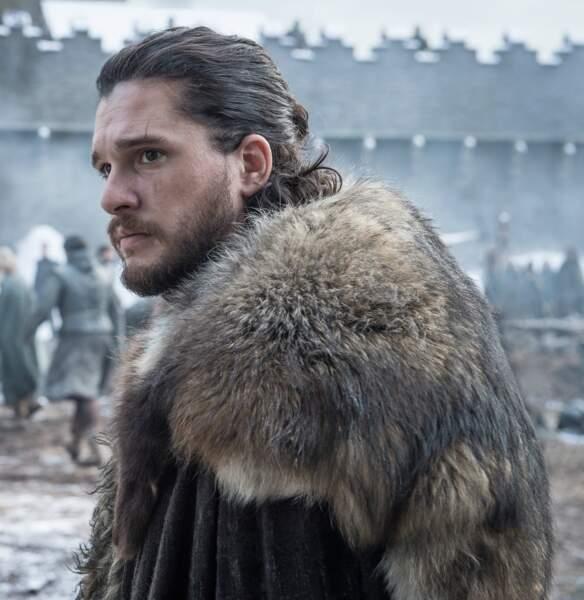 Fourrure et cicatrice, Jon n'a pas vraiment changé depuis la saison 7