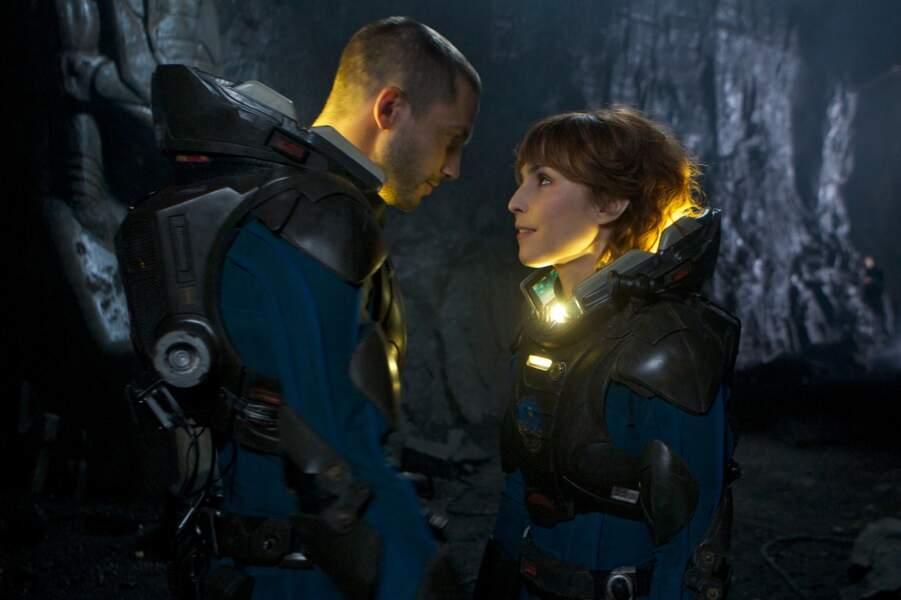 En 2012, Noomi Rapace est dirigée par Ridley Scott dans le film de science-fiction Prometheus