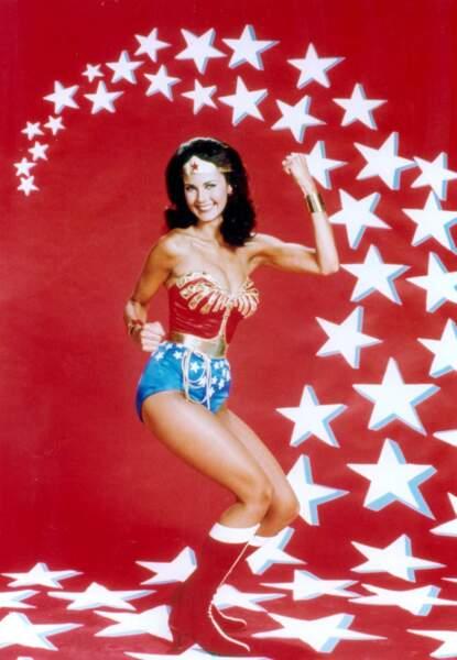 Le célèbre mini-short de Wonder Woman, immortalisé par Lynda Carter dans la série des années 70