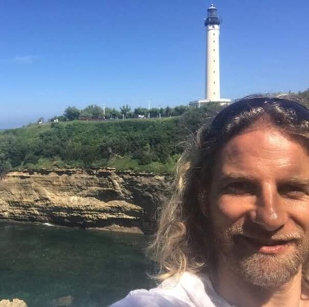 Gwendal Peizerat a vu un phare à Biarritz.