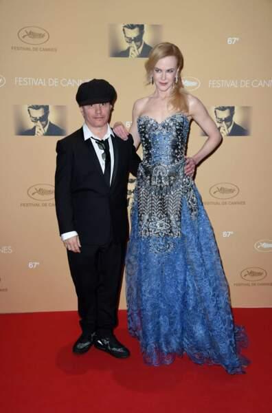 Nicole Kidman et son réalisateur Olivier Dahan...une (petite) différence de taille.