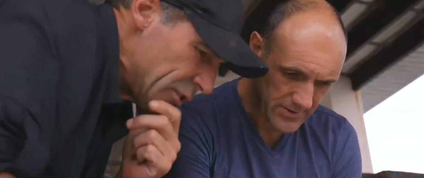 L'explorateur Mike Horn et son frère Martin, qui est aussi son bras droit