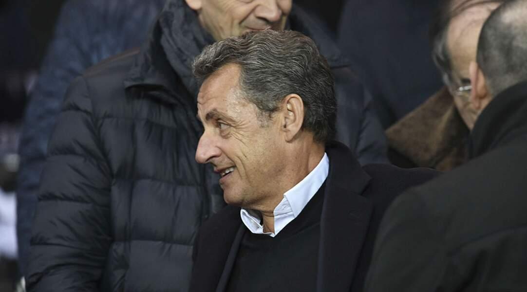 Fidèle du Parc, Nicolas Sarkozy a apprécié le spectacle de son équipe préférée
