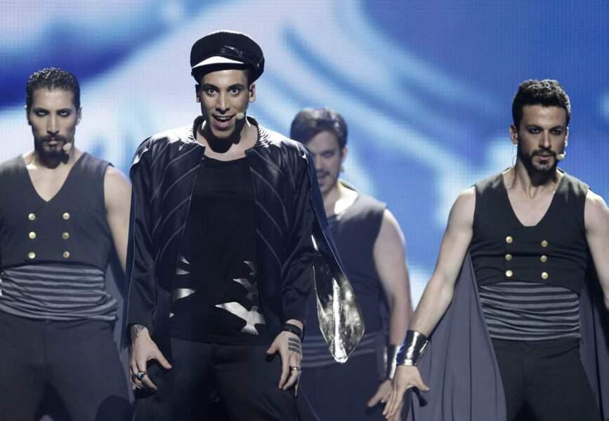 Répétitions avant la finale : pour la Turquie, noir, c'est noir.