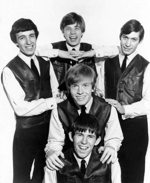 Bill Wyman, Mick Jagger, Charlie Watts, Keith Richards et Brian Jones en 1963