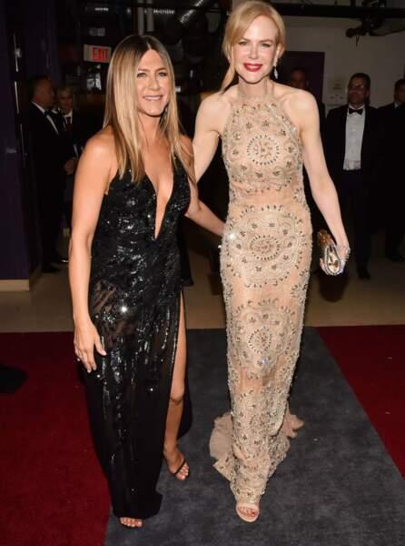 Jennifer Aniston et Nicole Kidman, meilleures copines ?