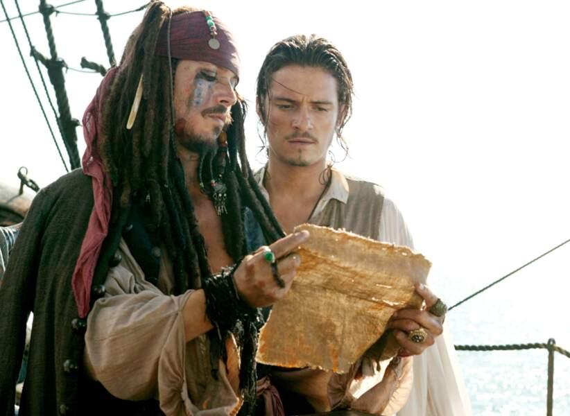 Pirates des Caraïbes 2, le secret du coffre maudit (2006) : La carte au trésor. Un autre élément in-dis-pen-sable