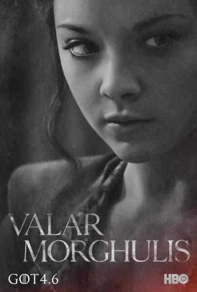 Natalie Dormer est Margaery Tyrell, soeur de Loras