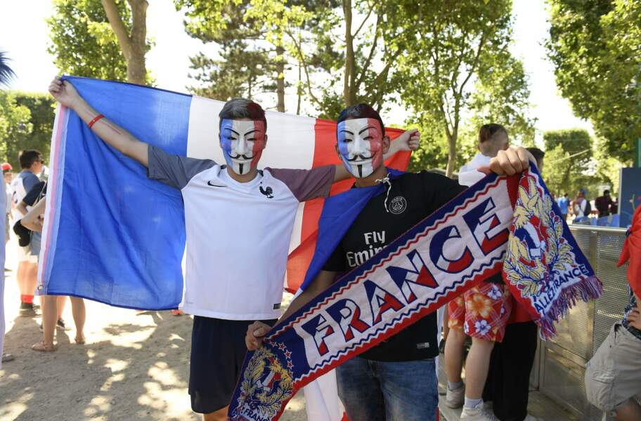 Des supporters pas si Anonymous