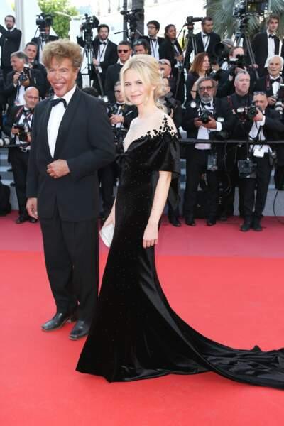 Julie Jardon et Igor Bogdanoff à la clôture du Festival de Cannes