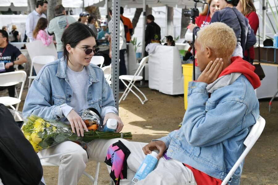 Kendall Jenner et Jaden Smith