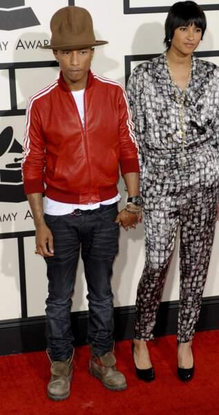 Pharrell Williams et sa compagne Helen
