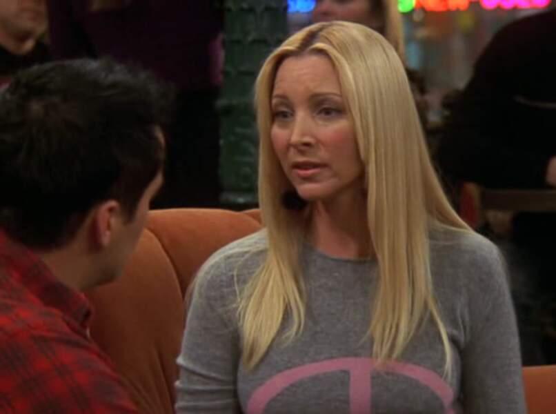 Au bout de 10 saisons, Phoebe a perdu ses couettes.