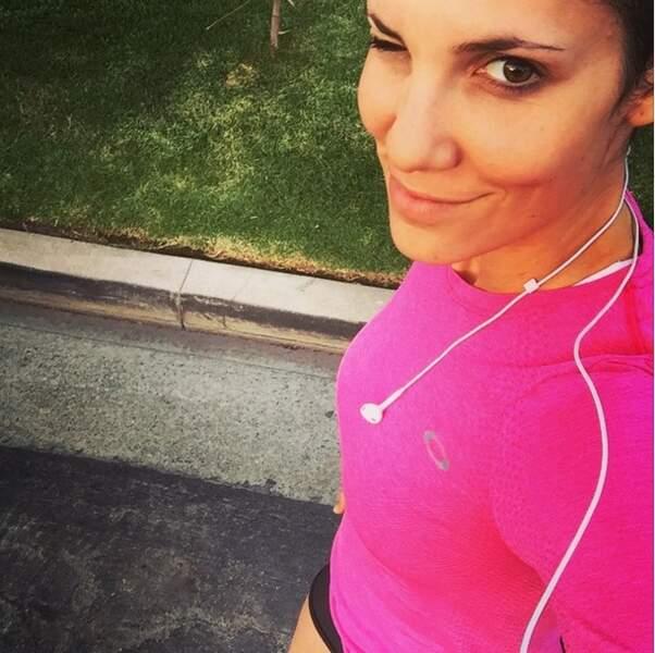 Et Daniela Ruah de N.C.I.S : Los Angeles en plein jogging !