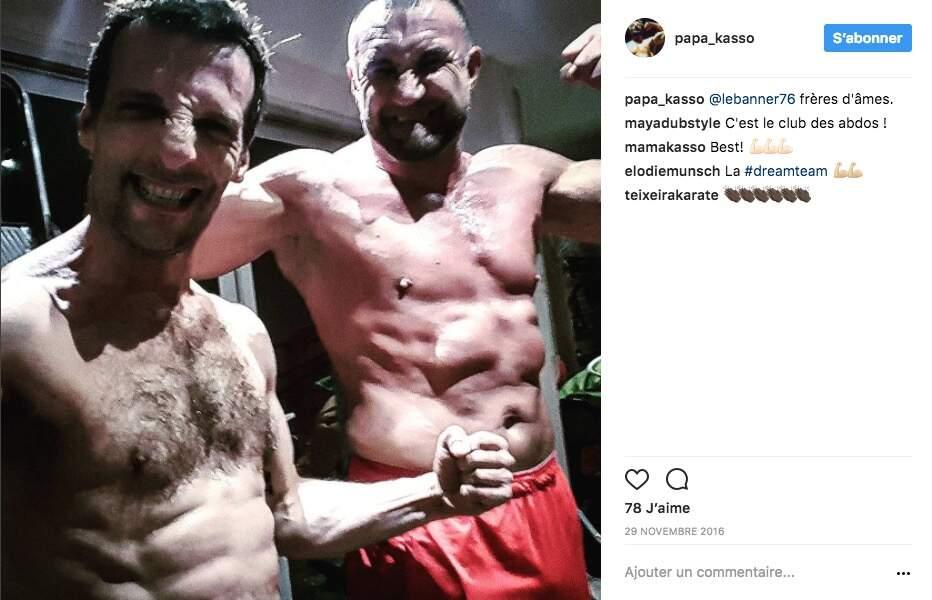 Avec Jérôme Le Banneur, boxeur professionnel