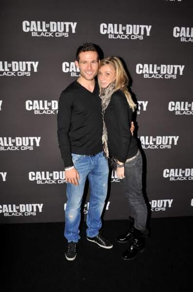 Le sportif Yohan Cabaye et Fiona, mariés depuis 2010.
