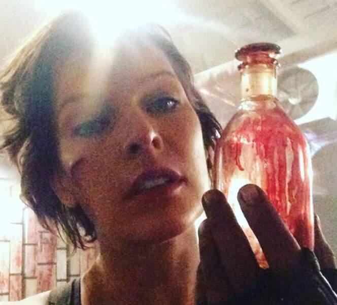 Son nouveau parfum : Sang de Zombie