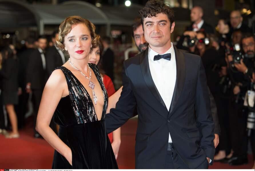 Le couple Valeria Golino et Riccardo Scamarcio