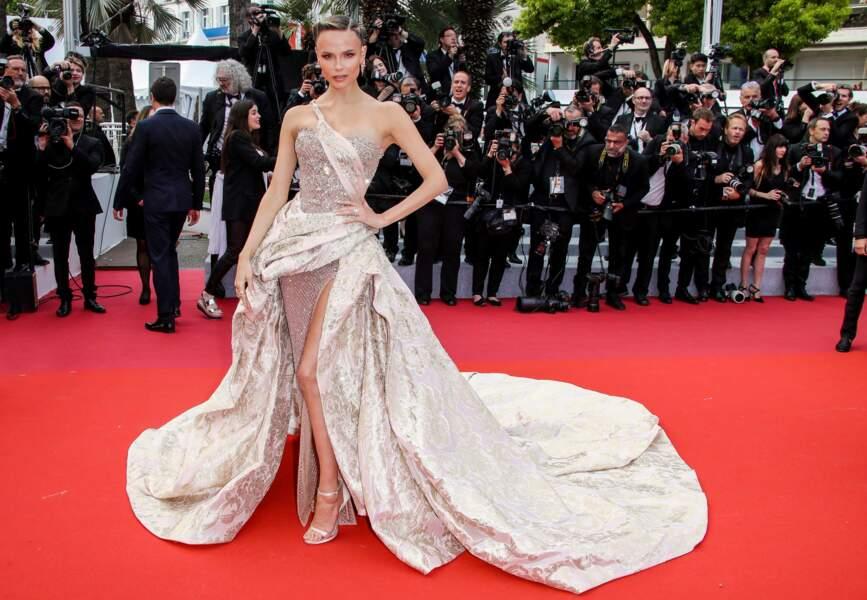Le top model russe Natasha Poly