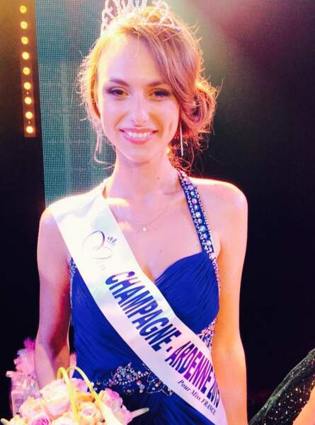 La miss Champagne-Ardenne 2015 est Océane Pagenot
