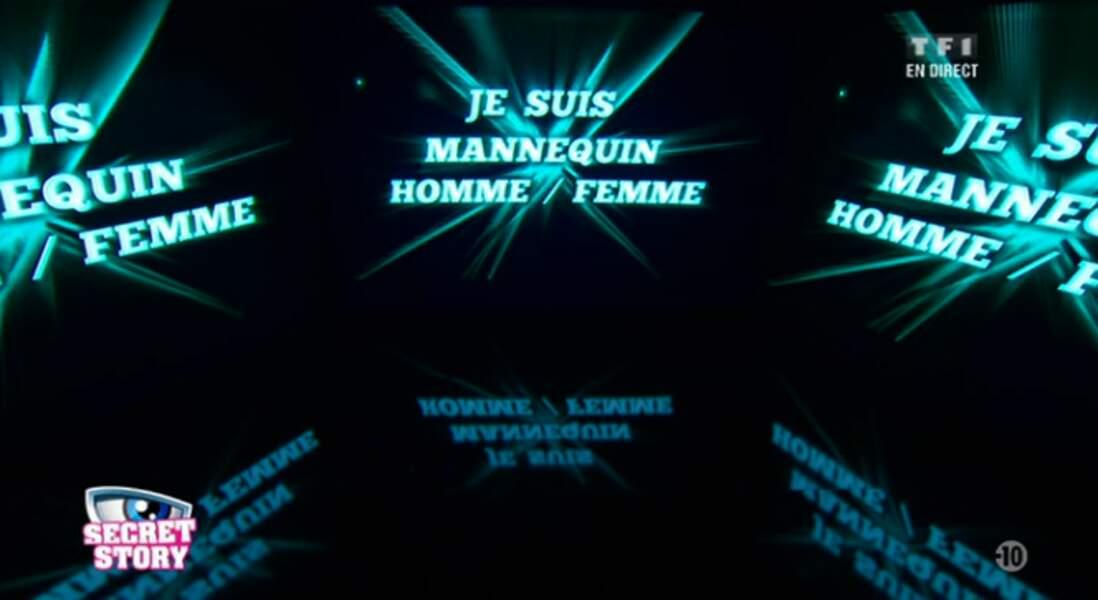 """""""Je suis mannequin Homme/Femme"""". Surprenant secret, on a hâte de découvrir de qui il s'agit..."""