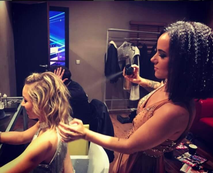 Alizée se met à la coiffure !