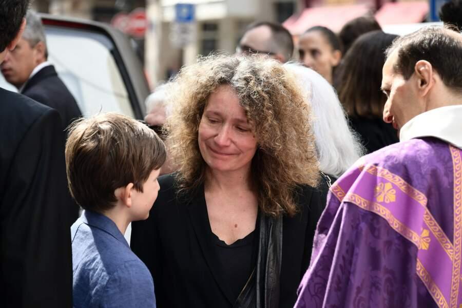 La fille de Pierre Bellemare, Maria-Pia Bracchi