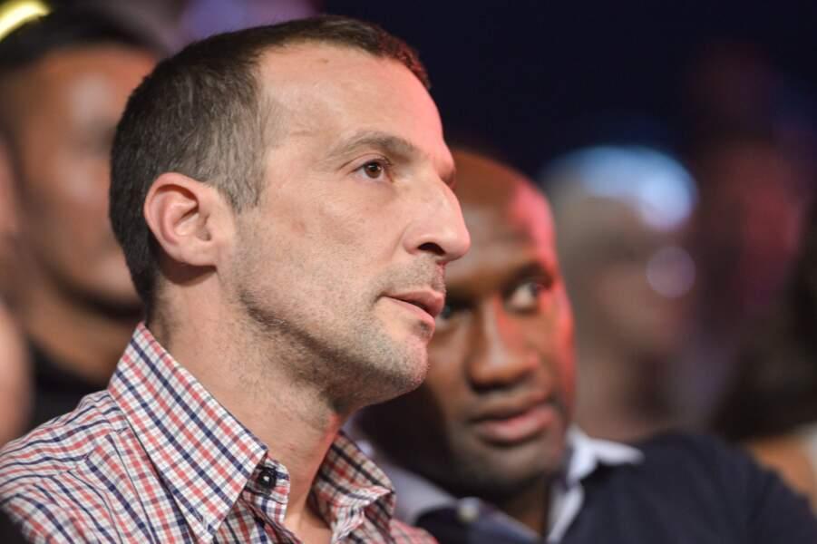 Passionné de boxe, Mathieu Kassovitz n'aurait manqué ce rendez-vous pour rien au monde