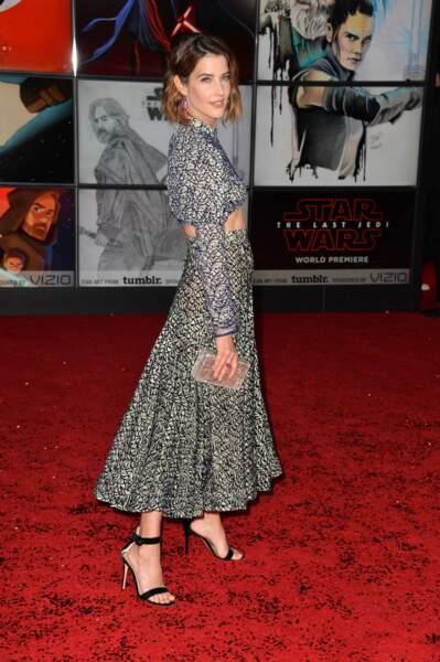 Cobie Smulders est venue soutenir ses copains