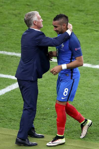 Et sur une valse... Dimitri Payet et Didier Deschamps