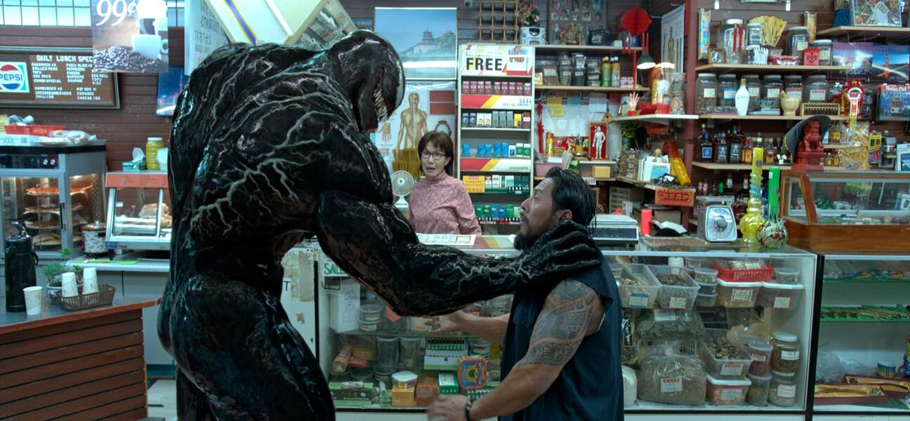 Une créature terrifiante de plus de 2 mètres de haut