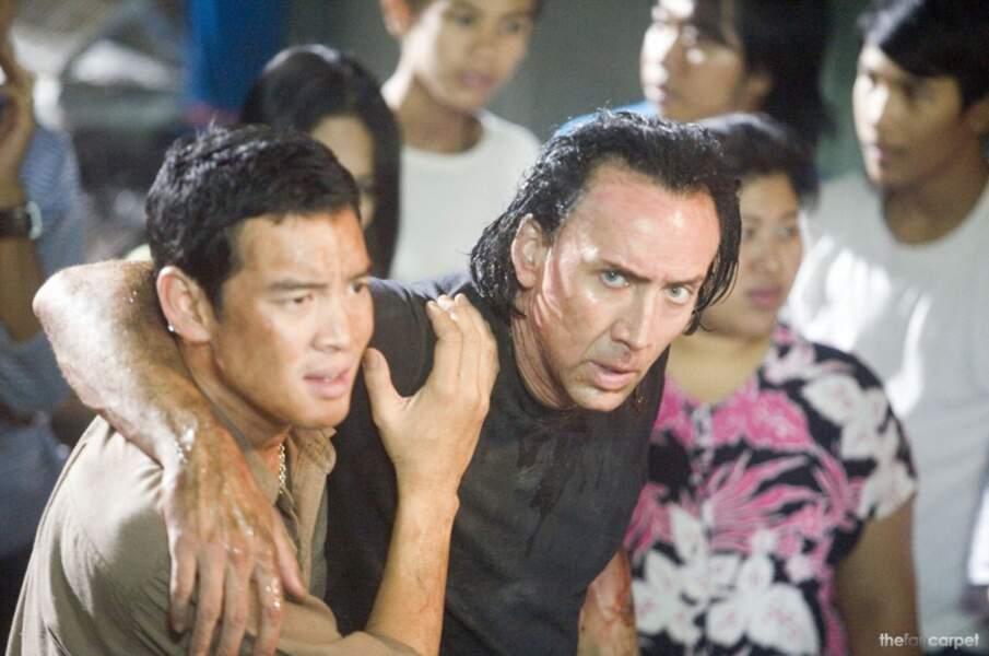On garde la couleur, on fait pousser, on brushe... Dans Bangkok Dangerous, on ne sait pas qui est le plus dangereux
