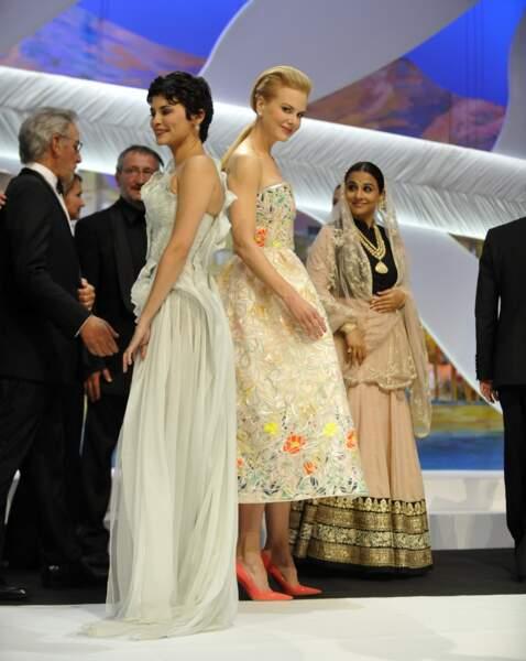 Nicole Kidman et Audrey Tautou ont décidé de se tourner le dos !