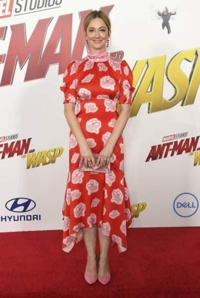 Judy Greer a repris son rôle de Maggie Lang, ex-femme de Scott Lang alias Ant-Man