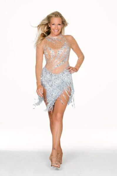Estelle Lefébure dans Danse avec les stars 3
