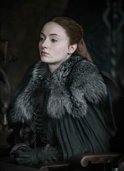 Quant à Sansa Stark, elle a depuis longtemps perdu son innocence