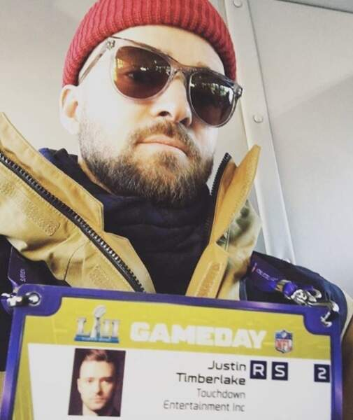 Justin Timberlake était AU TAQUET pour le concert de la mi-temps