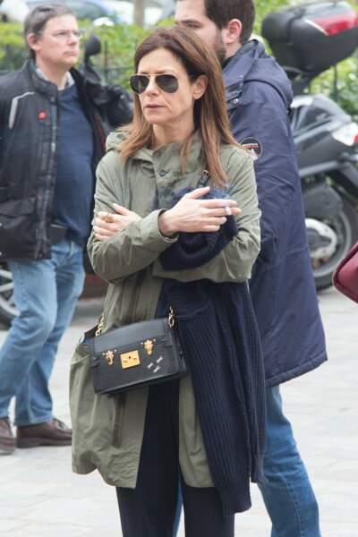 L'actrice Marina Foïs