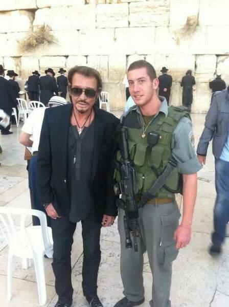 A Tel-Aviv, Johnny Hallyday a rencontré un fan
