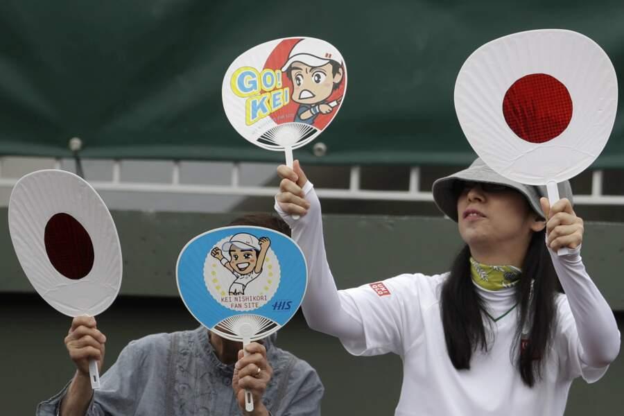 Les plus enthousiastes restent les Japonais