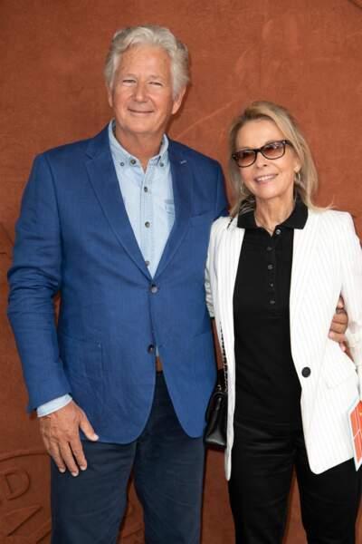 … Pierre Dhostel et son épouse, Carole…