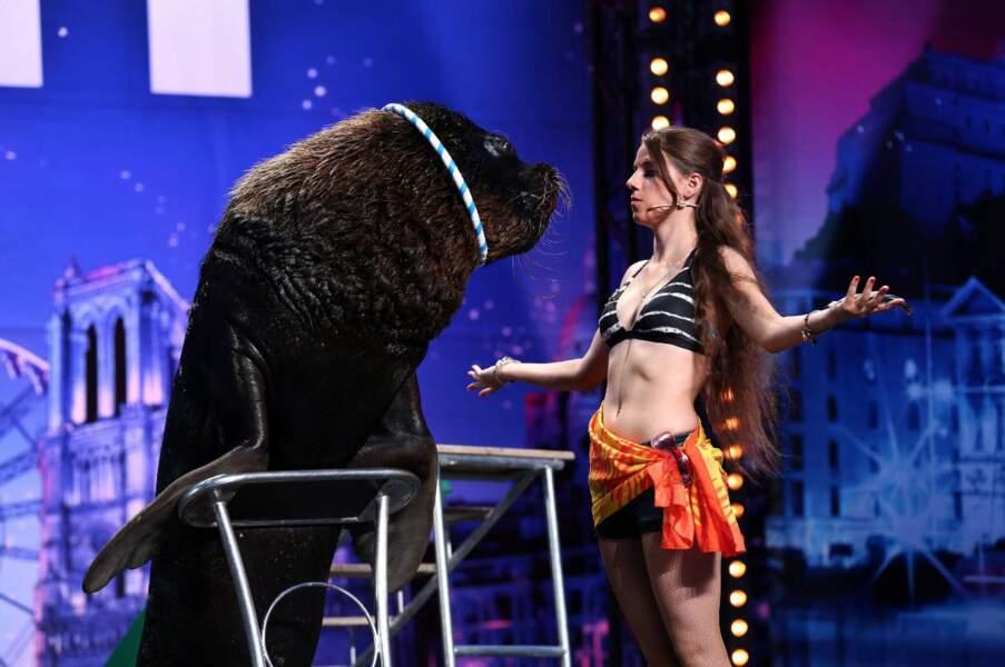 Les animaux seront également présents sur scène