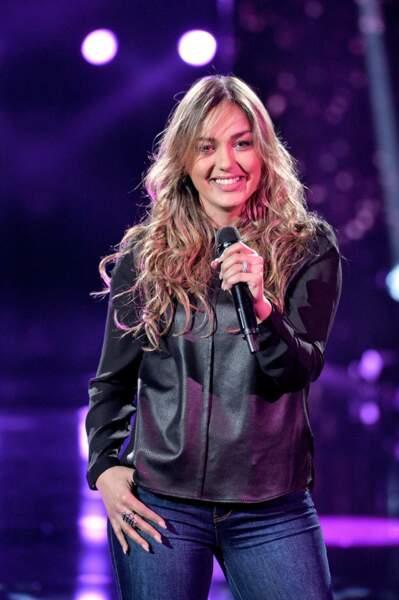 Yasmine Ammari est dans l'équipe de Florent Pagny