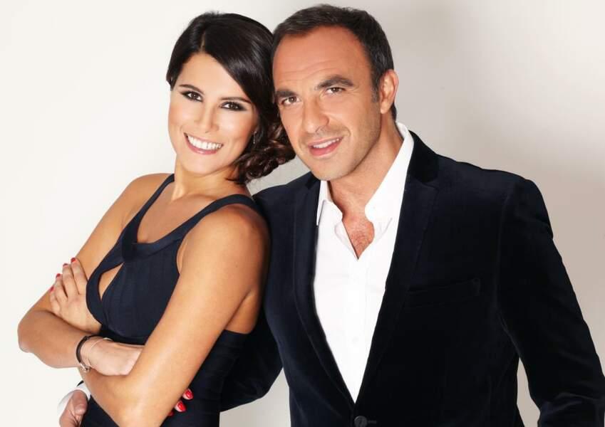 Nikos Aliagas et Karine Ferri affichent une belle complicité...