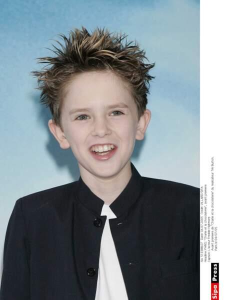 À 13 ans, Freddie Highmore accède à la célébrité !